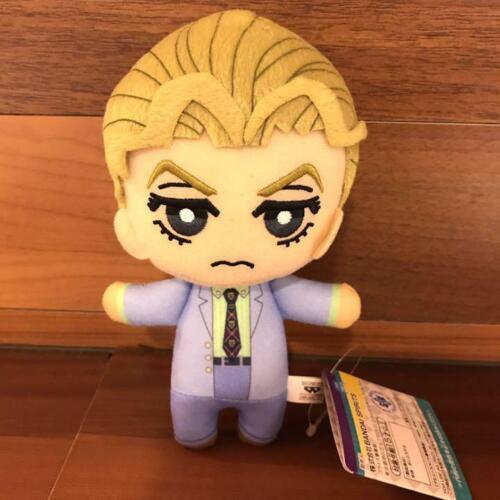 JoJo/'s Bizarre Adventure Tomonui Plush mascot Yoshikage Kira Gift  doll F//S