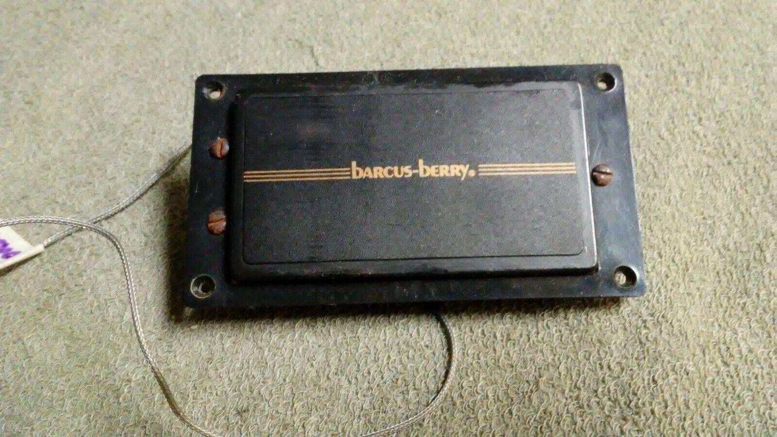 Barcus-Berry Hi-Tek Bass Humbucker Pickup Vintage Rare