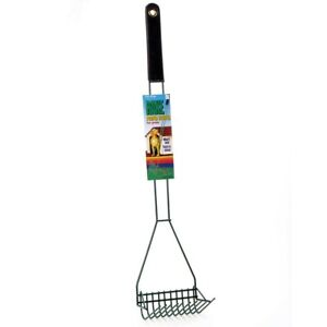 Four-Paws-Wire-Rake-Dog-Cat-Pet-Poop-Scooper-for-Grass-Sand-Black