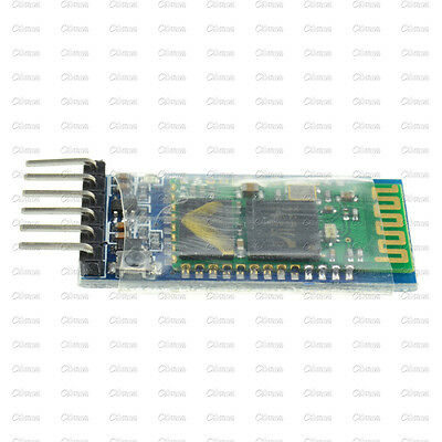 Wireless Serial 6 Pin Bluetooth RF Transceiver Module HC-05 RS232 TOP