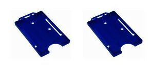 2-x-Blue-Portrait-Name-Security-Badge-Pass-Holders-Credit-Card-Size