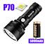 Torche-Puissante-Rechargeable-USB-Lampe-De-Poche-LED-L2-XLM-L2-P70-Chasse-Nuit miniature 14