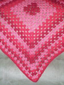 HANDMADE Crochet Baby/Toddler Blanket Afghan - Color Choice  - NEW