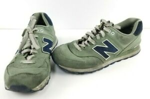 New-Balance-574-Men-039-s-Shoes-Size-9-5-Green-Running-Athletic-Sneakers-ML574