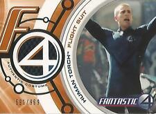 "Fantastic Four Movie - FF001 ""Human Torch Flight Suit"" Costume Card #545/969"