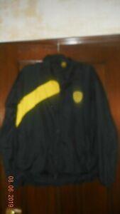 Homme Football Veste-burton Albion-m-training-noir/jaune-officiel-afficher Le Titre D'origine Prix Raisonnable