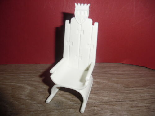 Playmobil Ritter Klicky Color Thron aus Set 3662 3664