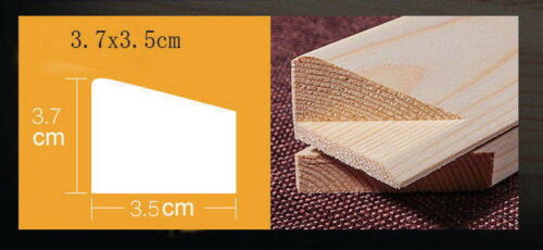 Classical wood stretcher bars art stretcher strip for gallery wrapped any size