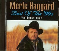 Merle Haggard - Best Of The '90s - Vol. 1 - Cd - - Fast Free Shipping