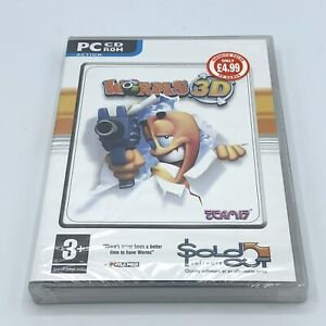 Worms 3D (PC, 2004) CD-ROM Windows New Sealed