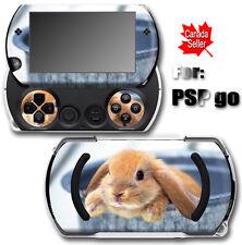 Rabbit Cute Pet SKIN STICKER COVER for SONY PSP Go