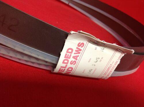 "Starrett 99428-1406 Band Saw Blade M42 Powerband  14/' 6/"" x 1-1//4/"" x .042  3-4 VP"