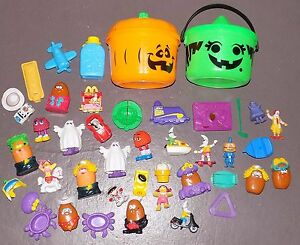 80s 90s Mcdonalds Happy Meal Toys Halloween Mcboo Buckets Grimace