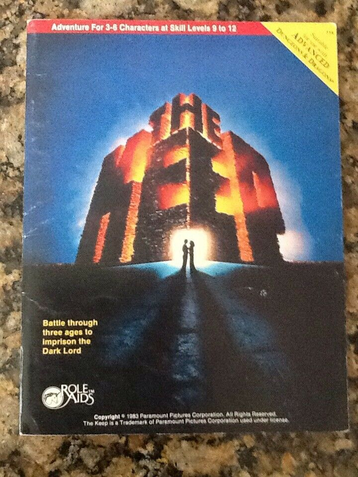 THE KEEP (Advanced Dungeons And Dragons)