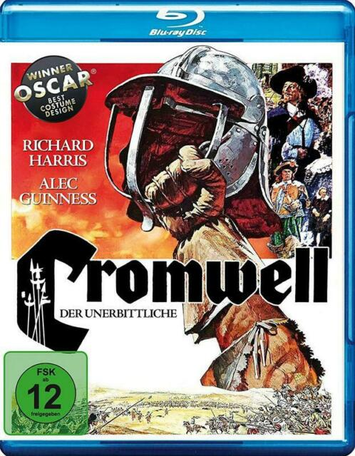 CROMWELL (1970) - Blu-Ray Disc - Richaed Harris, Alec Guinness..