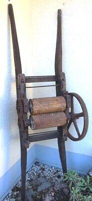 Obstpresse Presse Verschiedene Stile Sehr Alte Traubenmühle Weinpresse