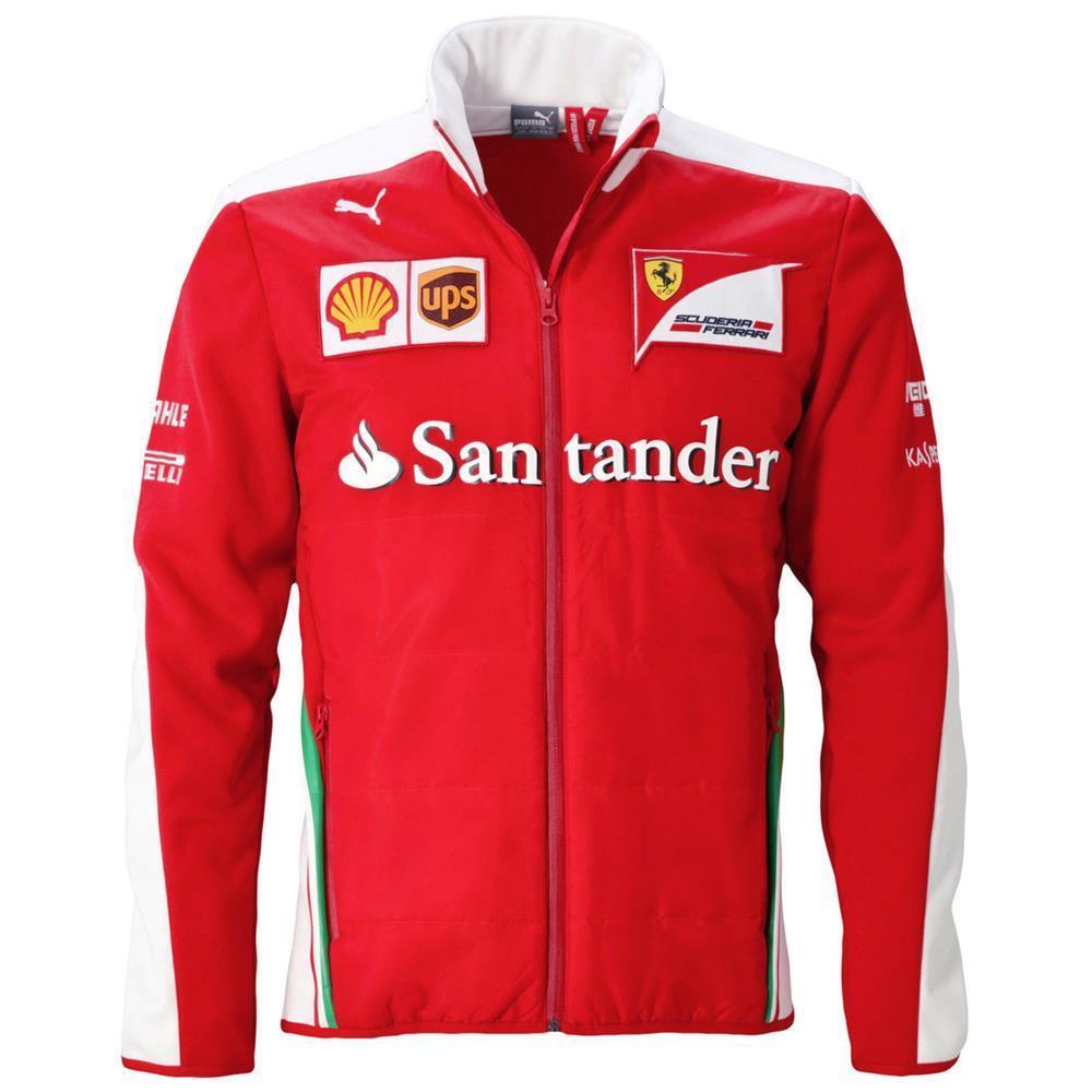 Veste Team Scuderia Puma Sf Formule Softshell Ferrari q8BnwH