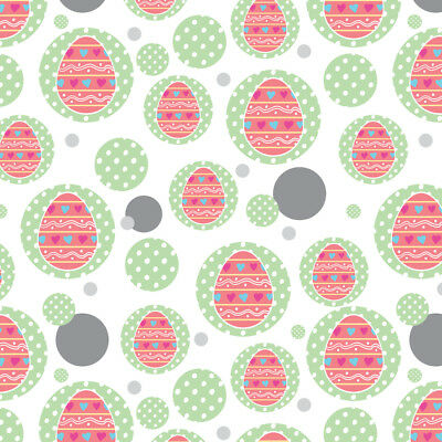 Gift wrap paper easter design