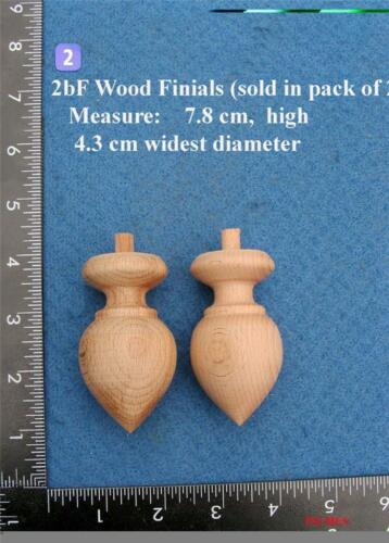 *Pair of Clock / furniture Finials Style 2b