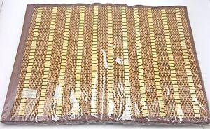 Bamboo-Hawaiian-Tiki-Luau-Placemats-Set-of-4-13x18-inch-New