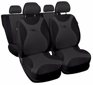 grey full set black Car seat covers fit Peugeot 3008