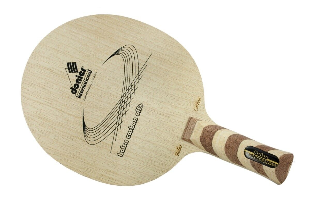 Table Tennis Blade  Donier Balsa Carbon Offensive Plus Blade
