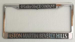Aston Martin Beverly Hills O Gara тренер компании дилер номерной знак рамка Ebay