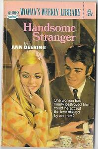 HANDSOME-STRANGER-by-ANN-DEERING-Womans-Weekly-Library-no-660-1971