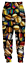 3D print cartoon Psychedelic Casual Pants Men Jogger Trousers Fitness Sweatpants