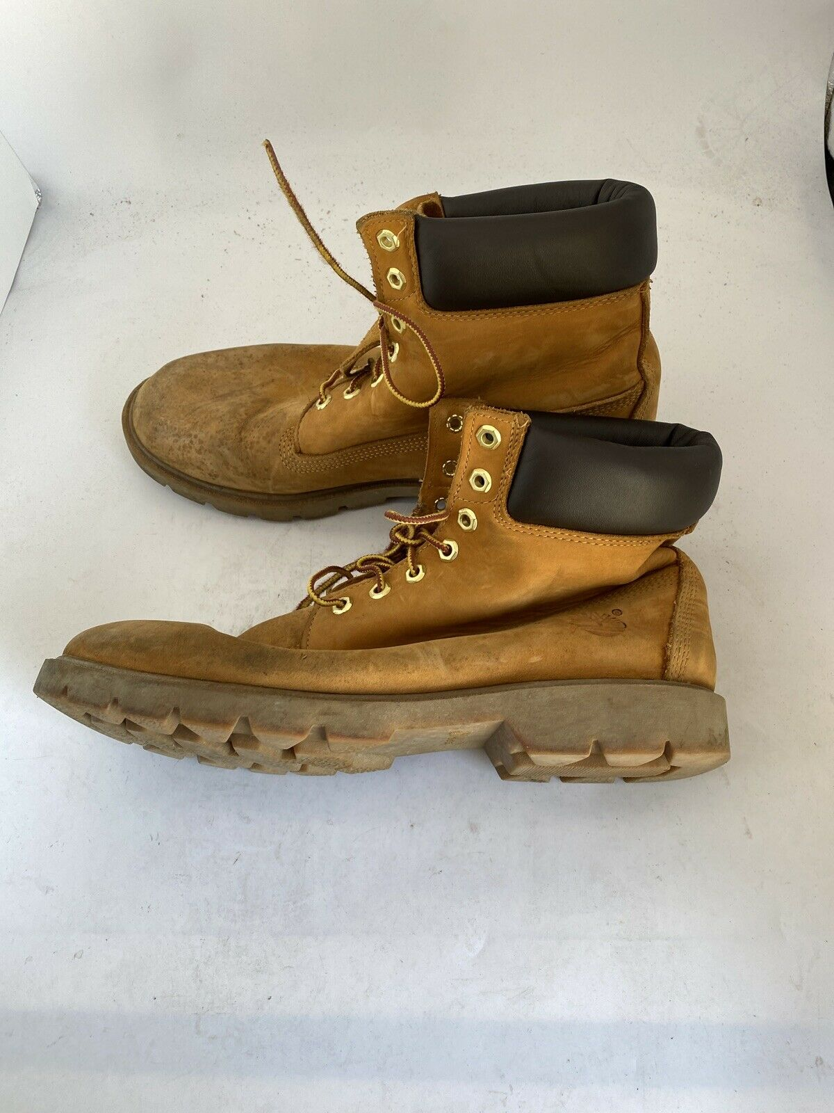 Timberland MEN'S 18094 ORIGINAL GOLD TIMS WATERPROOF BOOTS Size 12M V825