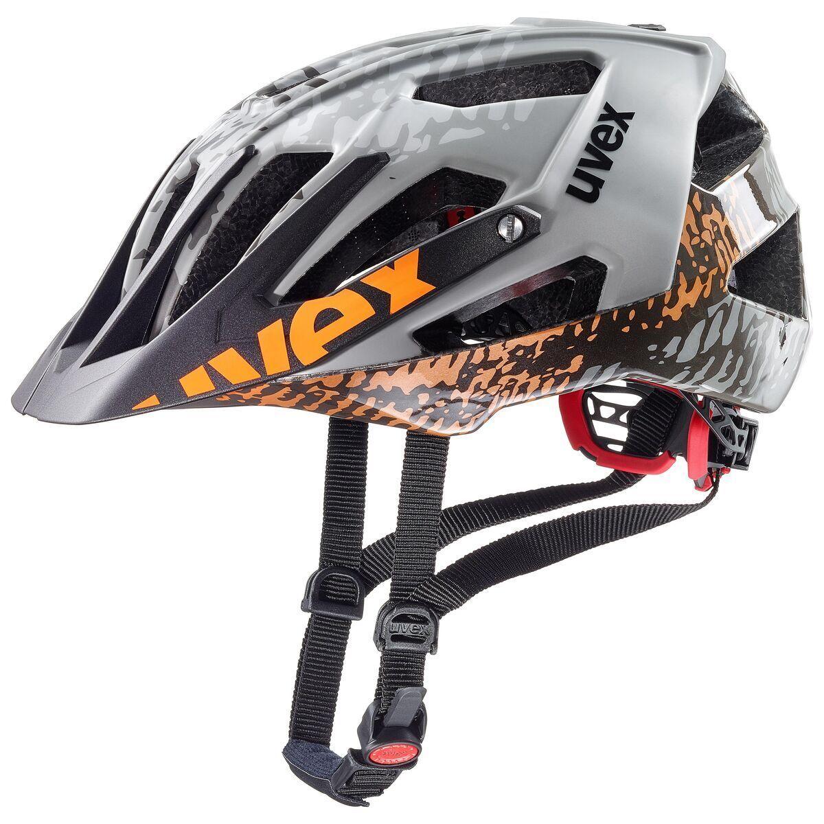 UVEX Quatro MTB bicicleta casco gris negro 2019