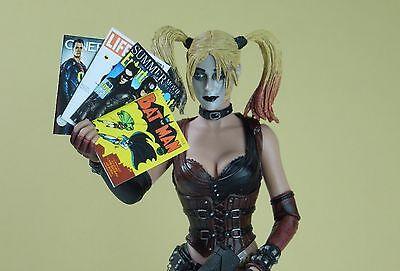 for Action Figures 1//12 Scale custom Batman Magazines set of 4