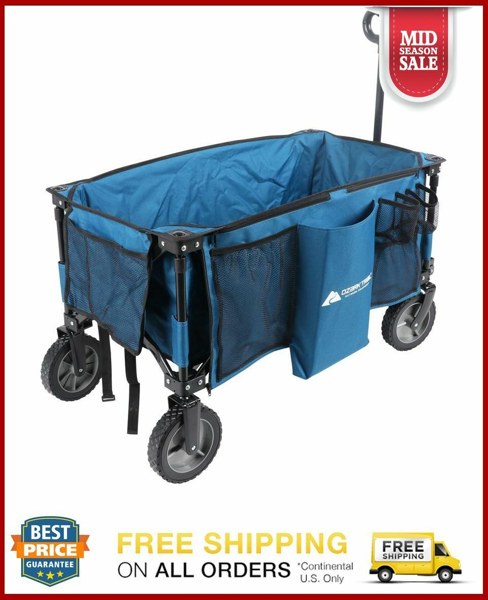 Wagon Cart Folding Collapsible Garden