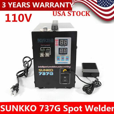 Welding Machine Welding Machine,Hand Held SUNKKO 737G Battery Spot Welder Welding with Pulse /& Current Display US Warehouse