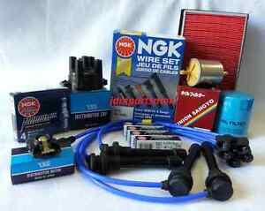 NGK Iridium IX Spark Plugs Fits 1991-1994 Nissan 240SX Tune Up Kit