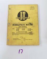Iampt Minneapolis Moline G 900 G 950 G 1000 G 1350 Mf95 Mf97 Shop Service Manual
