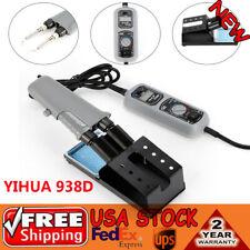 Wep 938d Desoldering Hot Tweezers Mini Soldering Iron Station For Bga Smd 110v