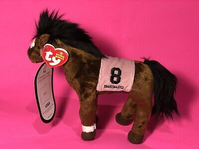Kentucky Derby Horse the Horse Ty Beanie Baby BARBARO