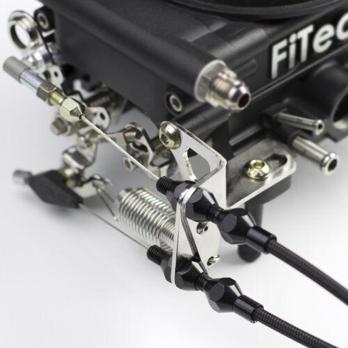 Lokar TCB-40FIT Throttle Cable /& Kickdown Bracket FiTech EFI Stainless Steel