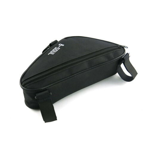 Bicycle Cycling Triangle Storage Bag Bike Quick Release Front Tube Frame Pouch