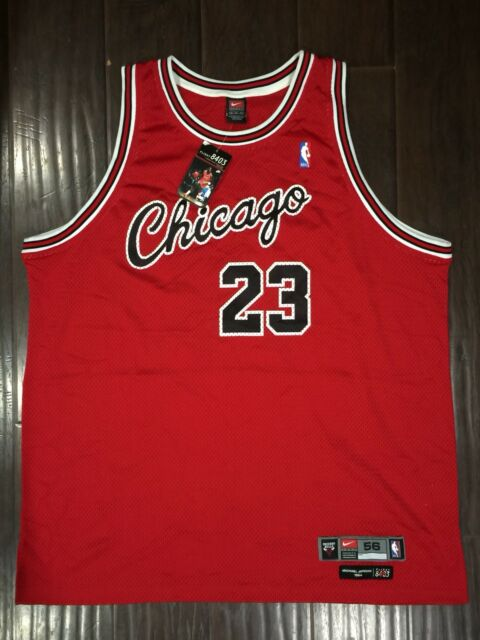 e36777148ba NEW🔥 Nike NBA Chicago Bulls 1984 Authentic Michael Jordan Jersey Flight  8403 56