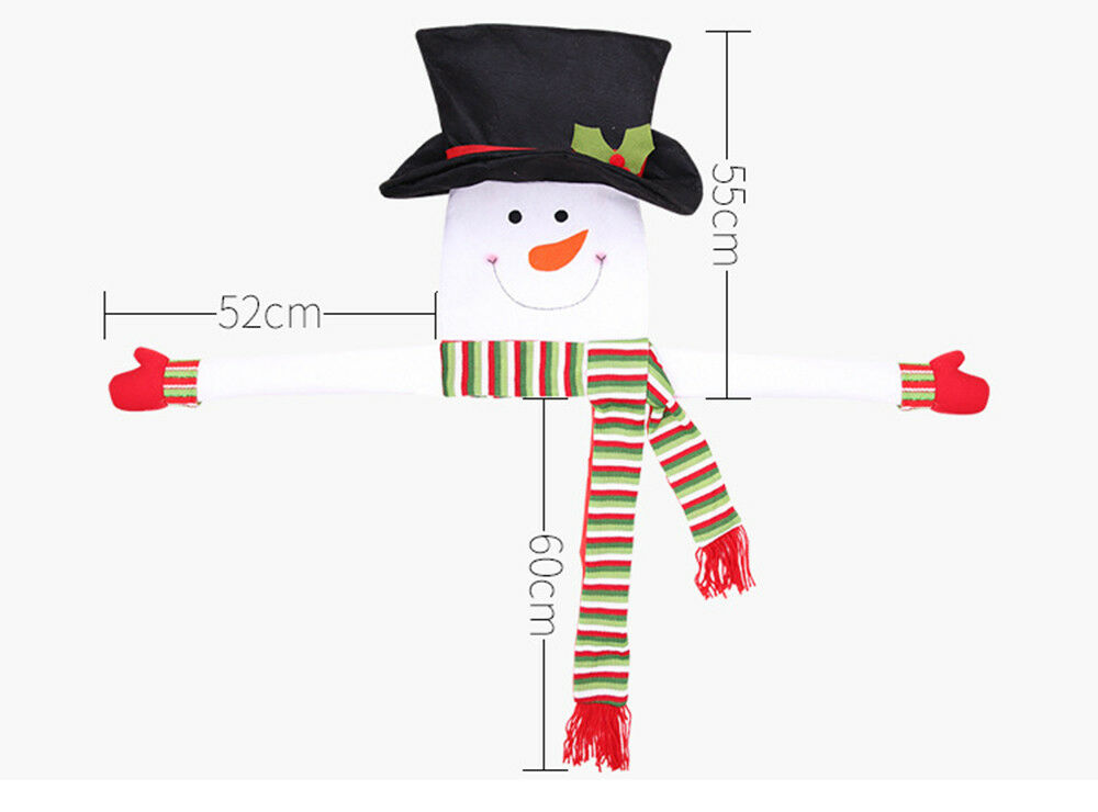 Snowman Christmas Tree Hugger Topper Top Of The Tree With