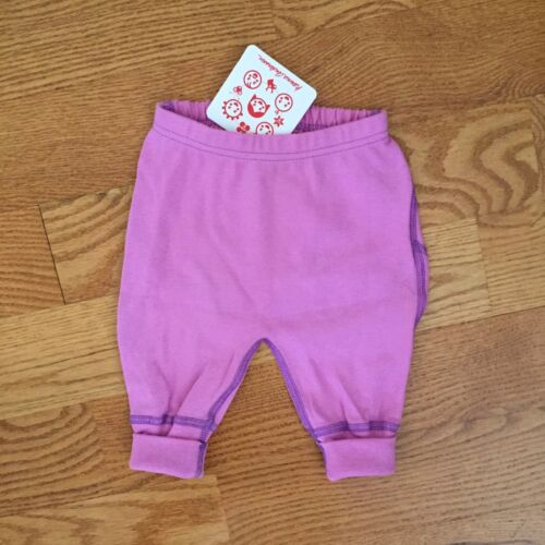 HANNA ANDERSSON infant baby nb COTTON solid WIGGLE PANTS NWT 50 60 70 3m 6m 12m