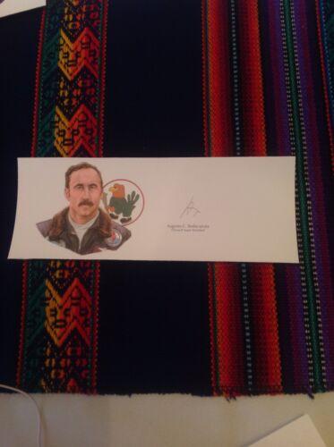 Falklands Augusta Bedacarratz SIGNED Card