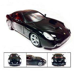 FERRARI-575-GTZ-BY-ZAGATO-BLACK-1-18-HOTWHEELS-MATTEL-RED-FOUNDATION