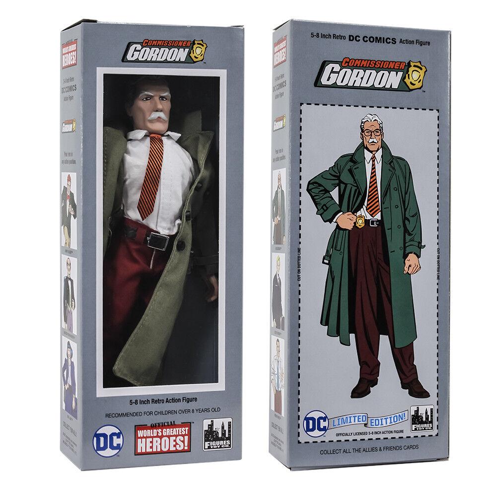 DC Comics Retro Style Boxed 8 Inch Action Figures  Commissioner Jim Gordon