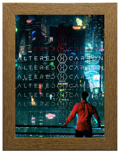 A3 A4 Sizes Altered Carbon TV Show Poster or Canvas Art Print