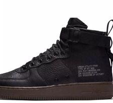 Nike Wmns SF Air Force 1 Mid 'Hazel' Black Brown 917753 002 Classic Sneakers 917753 002