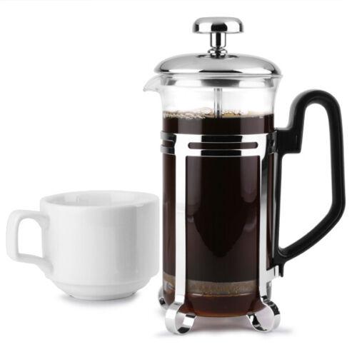Chrome Cafetiere 3 Tasse11 Oz environ 311.84 g café cafetiere
