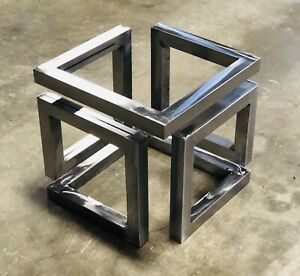 Modern Table Base Coffee Table Infinity End Table Legs Ebay